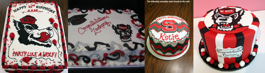 examples of cakes found on the web