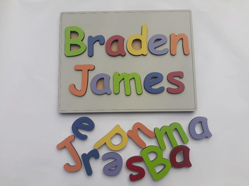 personalised name puzzle full