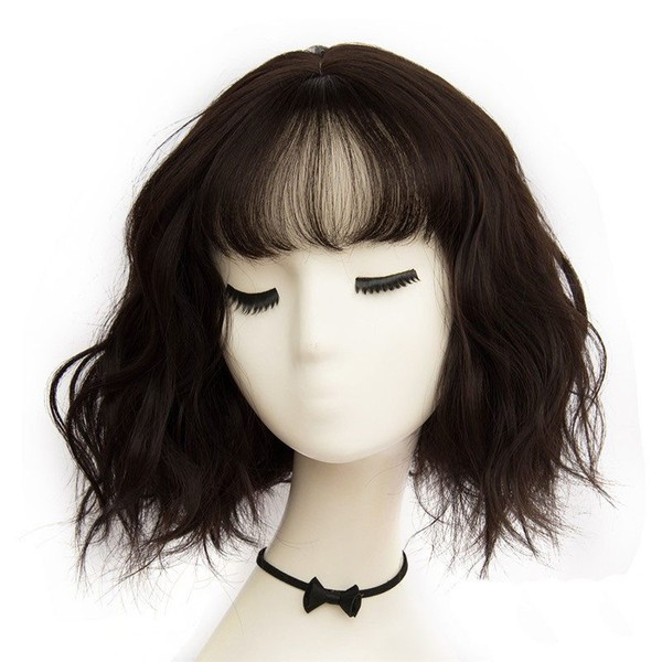 Short Wigs Natural Hair Synthetic African American Wigs High