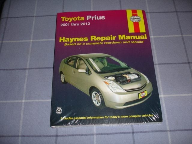 2001 Toyota Prius Service Guides