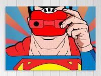 Poster Print - Superman - Pop Art - Superhero - Kids Art ...