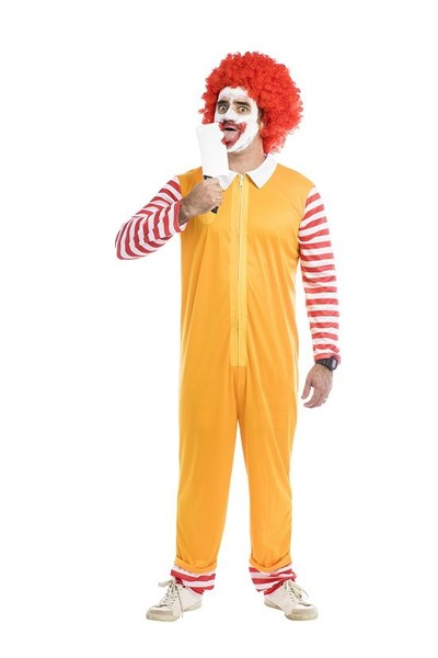 hungry clown costume ronald