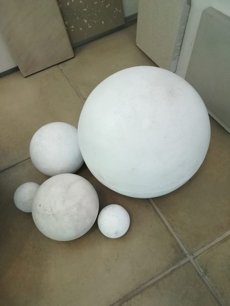concrete sphere ball 400mm