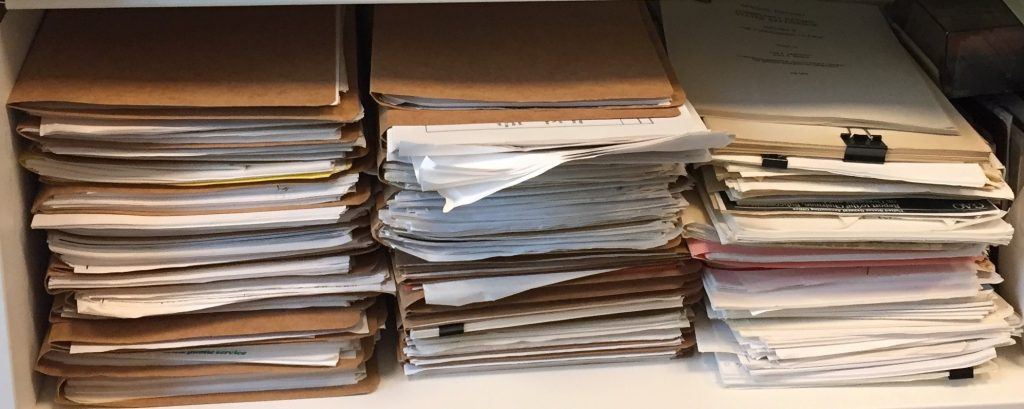 Blumberg's files from the Clinton years
