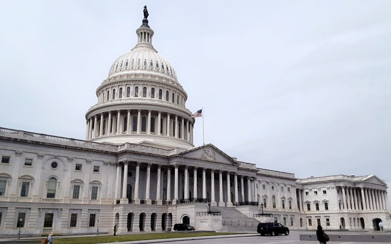 Photograph of the Capitol building