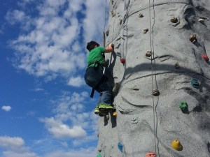 Adventure Park at Grants Mill Irondale Alabama Rock Climber
