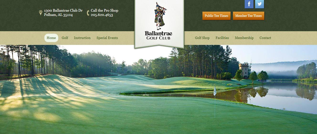Ballantrae Golf Club Website
