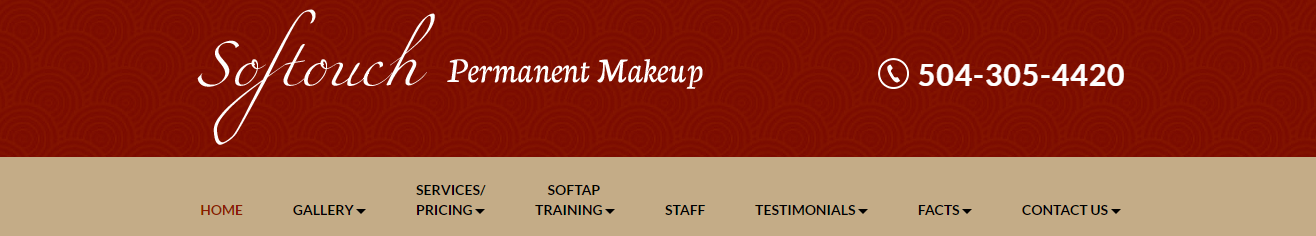 Birmingham Softouch Permanent Makeup Website