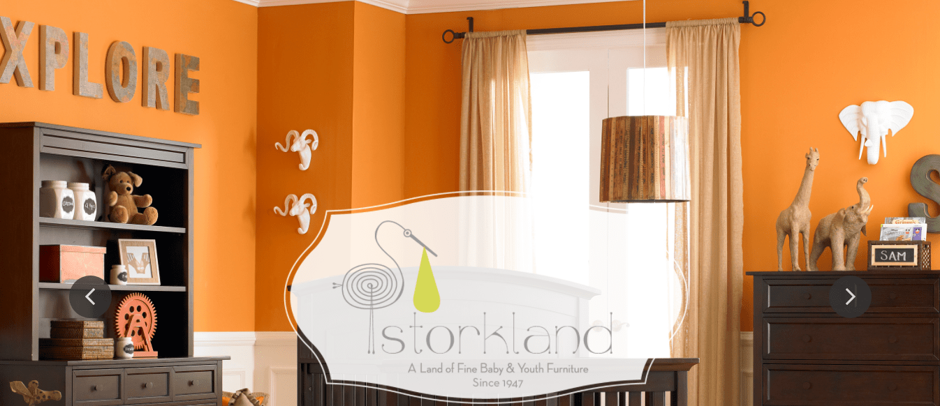 Storkland Baby & Kid Furniture Orange Room Birmingham Alabama
