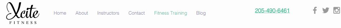 Xcite Fitness Training Website Vestavia Hills Personal Trainer