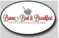Bama Bed and Breakfast in Tuscaloosa Alabama