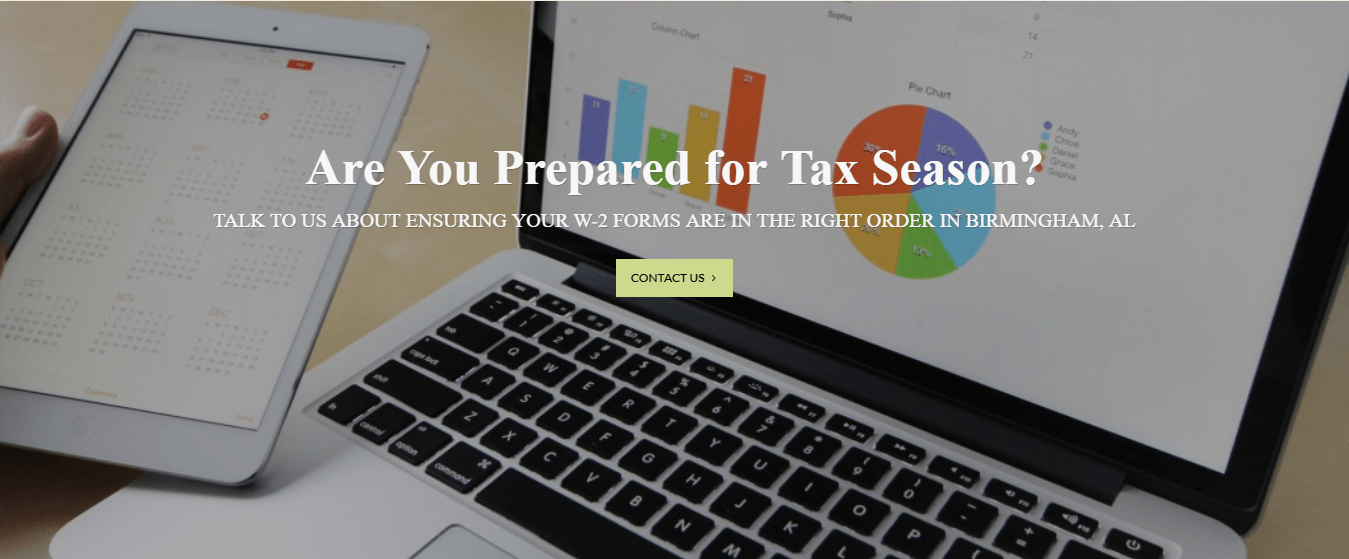 Systematic Accounting Services Inc Website in Birmingham Alabama