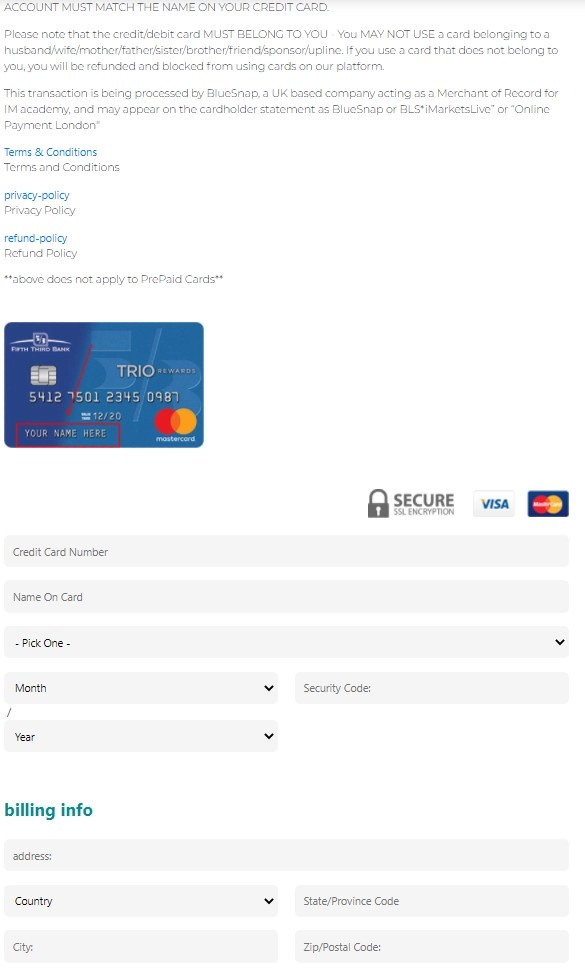 IML academy join_payment