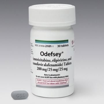 FDA Approves Odefsey (emtricitabine, rilpivirine and tenofovir alafenamide) for the Treatment of HIV-1 Infection