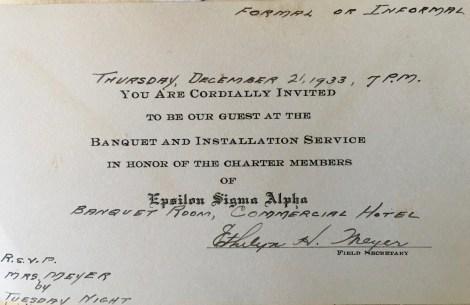 ESA invitation