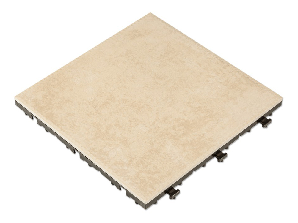 outdoor ceramic deck tiles taupe pack of 10
