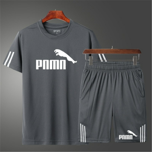 Casual Male Tracksuit Clothing Summer Men Set Fitness Suit Sporting Suits Short