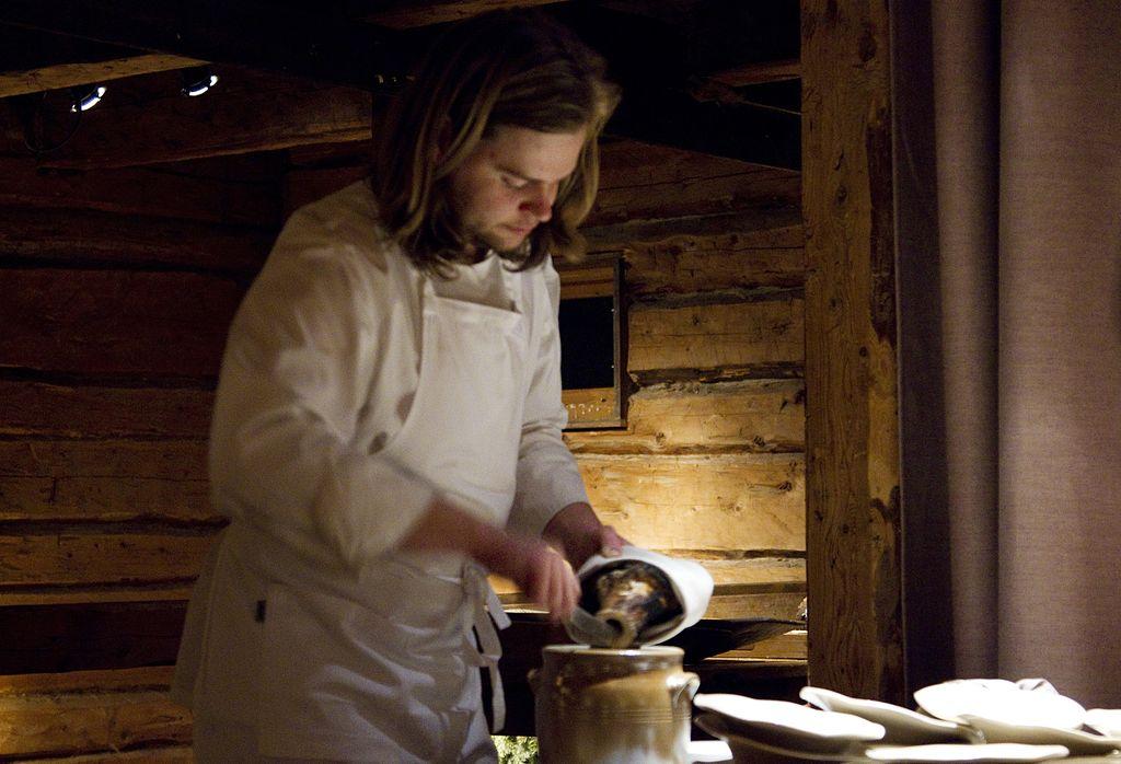 Magnus Nilsson kock på Fäviken