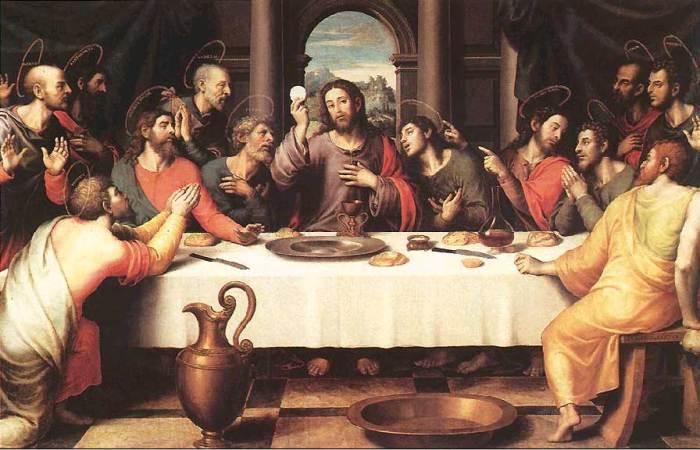 """""""Sveta večera"""", Juan de Juanes (1562.)"""