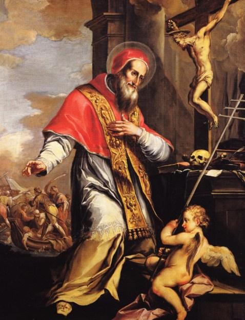 """Sv. Pijo V."", djelo nepoznatog slikara (XVII st.), crkva Sv. Krune, Vicenza, Italija"