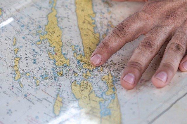 plan itinéraire trading