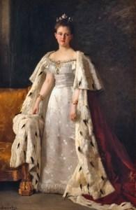 Queen Wilhelmina, by Thérèse Schwartze