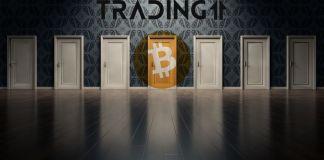 BTC Bitcoin, door, dveře