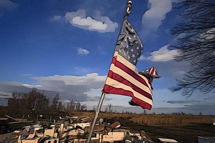 Americká ekonomika se propadla za minulý kvartál o 32,9 %!