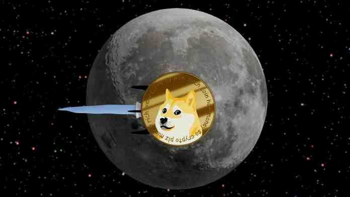 Dogecoin dosáhne 50 centů. Zdroj: Shutterstock.com/Gaston Cerliani