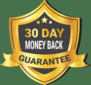 30 days money back guarantee badge