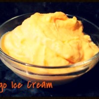 3 Ingredient Mango Ice Cream {Gluten Free}