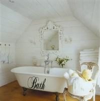 Chopin Script Bath Wall Decal - Trading Phrases