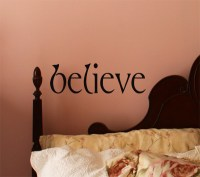 Simply Words Believe   Wall Decals - Trading Phrases