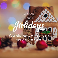 HomeAway for the Holidays Giveaways
