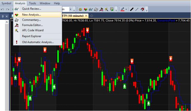 New Analysis Window