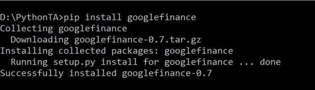 GoogleFinanceAPI