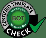siegel für den binäre optionen template vergleich