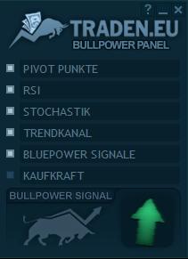 Panel im Bullpower Template Test
