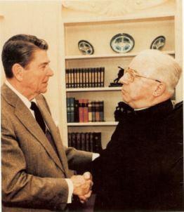 Ronald Reagan & Gommar DePauw