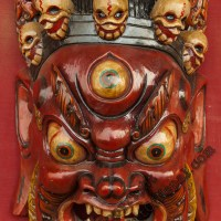 Bhairab Tibetan Mask