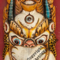 Garuda Wooden Mask