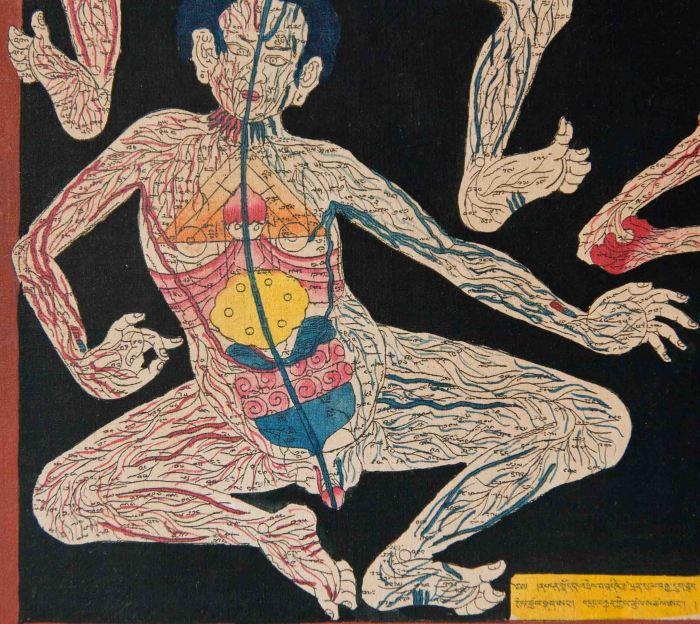 Tibetan Medicine Paintings