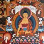 Central Buddha detail