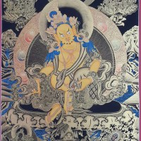 Jambhala Thangka Painting