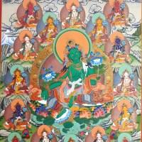 21 Tara Thangka Painting