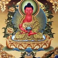 Tangka Painting of Amitabha