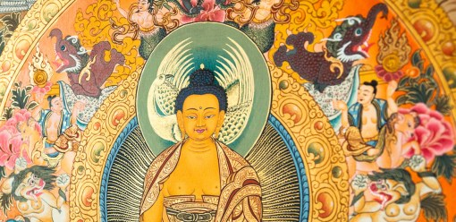 Buddha Painting Masterpiece
