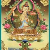 Bodhisattva Manjushri Thanka