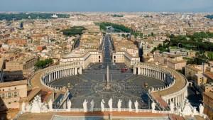 Saint Peters Square Vatican City, Italy