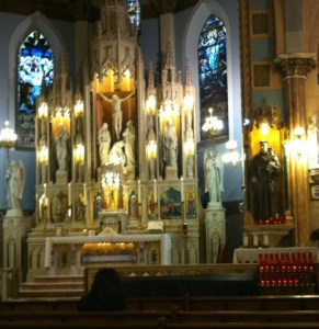 Saint Anthony of Padua Jersey City on The Feast of Our Lady of Mount Carmel